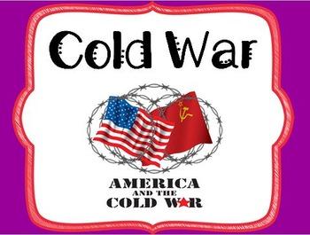 Cold War Unit - Grade 5