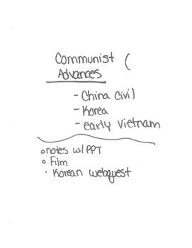 Cold War Unit Plan Part 3/9- great unit plan!