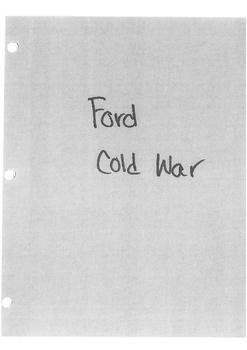 Cold War Unit Plan Part 7/9