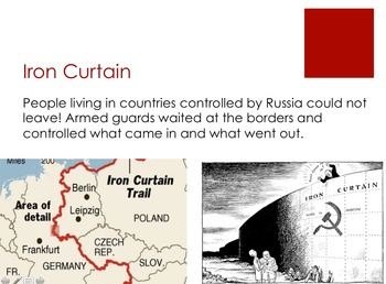 Cold War Unit Plan w/ Quiz - many standards covered
