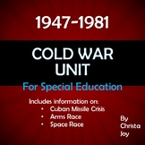 Cold War Unit for Special Education