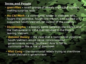 Cold War: Vietnam War Beginnings