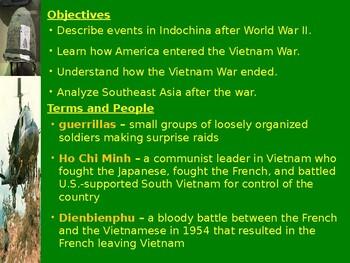 Cold War: Vietnam War Splitting the Nation