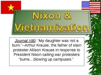 Cold War: Vietnam War Vietnamization