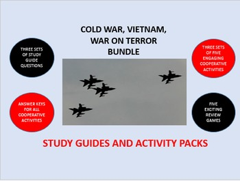 Cold War, Vietnam War, War on Terror Bundle: Study Guide/A