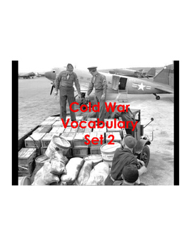 Cold War Vocabulary Builder Part 2