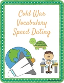 Cold War Vocabulary Speed Dating