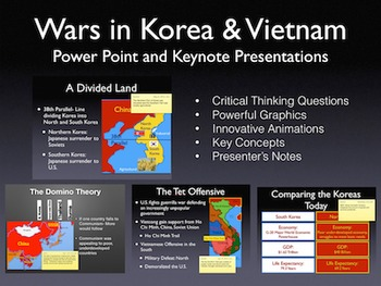 Cold War: Wars In Korea and Vietnam PowerPoint Keynote Presentations
