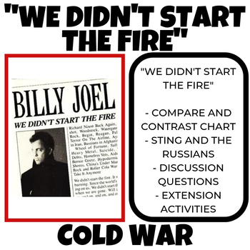 We Didn't Start the Fire Billy Joel Cold War