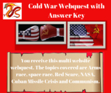 Cold War Webquest with Answer Key