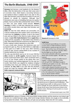 Cold War: Western powers, Berlin, NATO