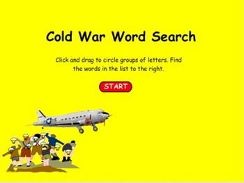 Cold War Word Search - Bill Burton