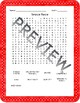 Cold War Word Searches