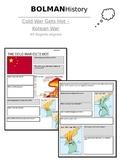 Cold War Worksheet - Korean War - NYS Regents Aligned