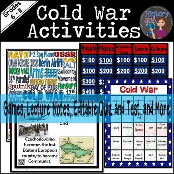 Cold War Activities