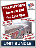 Cold War and America Bundle!  56 Pages/Slides of Engaging,