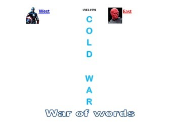 Cold War by Images - 2 Sides - Truman Doctrine vs Cominform and Comecon
