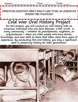 Cold War in America Unit: First Red Scare to the Vietnam War