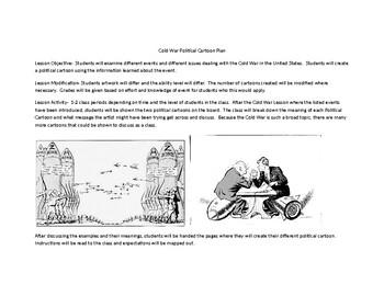 Cold War in American Society Political Cartoon