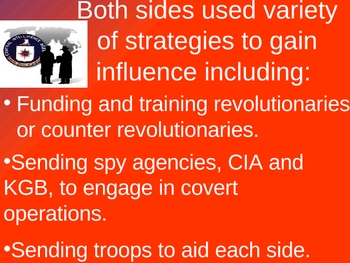 Cold War in the 3rd World Powerpoint