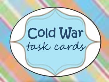 Cold War {task cards}
