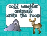 Cold Weather Animals Write the Room
