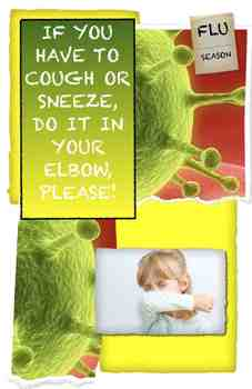 Cold and Flu Season Poster