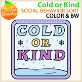 Cold or Kind: Social Behavior Sort