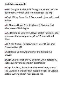 Colditz POWS Handout