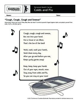 Colds and Flu Teacher's Guide (Pre-K to Grade 2)