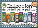Spanish Hall Pass Set- Coleccion de Pases para Pasillo Buh