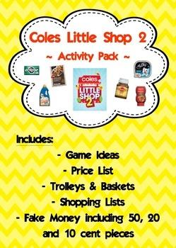 Coles Little Shop 2 Activity Pack