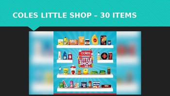 Coles Little Shop