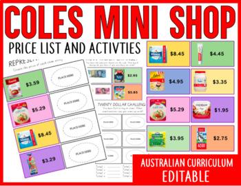 Coles Little Shop 2 Activities + Price List (Level 3/4)