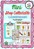 Coles Mini Shop Collectable Editable Resource