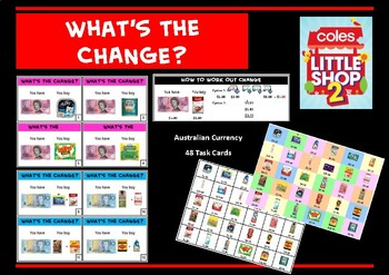 Coles Mini Shops 2 : What's the change?