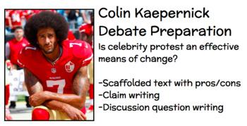Colin Kaepernick Debate Prep