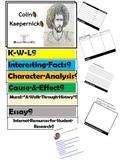 Colin Kaepernick Flip Book - Research Project