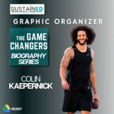 Colin Kaepernick Worksheets, Biography Activity, CCSS