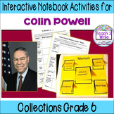HMH Collections Grade 6 Collection 5 Colin Powell Anchor Texts Activities
