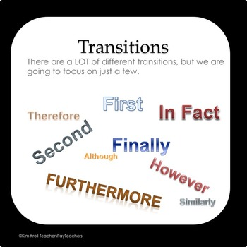 Collab-O-Writing #2 With TRANSITIONS (Fun and Silent!)