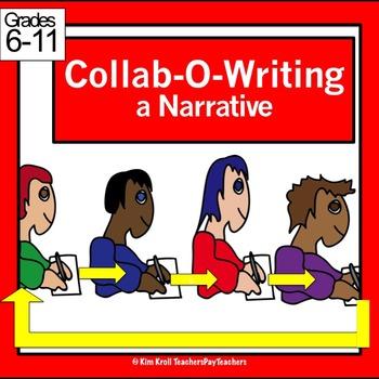 Collab-O-Writing a Narrative: Fun and Silent Class Writing!
