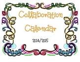Collaboration Calendar