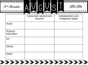 Collaboration Calendar Set