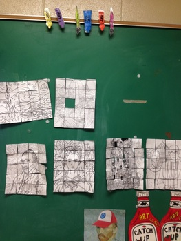 Collaboration Grid Drawing