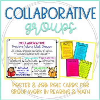 Collaboration Learning Groups Bundle: Reading and Math