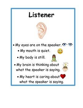 Collaboration Listener and Speaker Cards