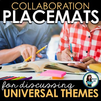 Collaboration Placemats: Discussing Universal Themes