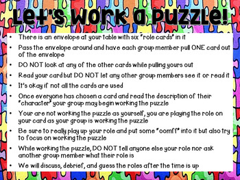 Collaboration Puzzle Task