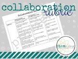 Collaboration Rubric